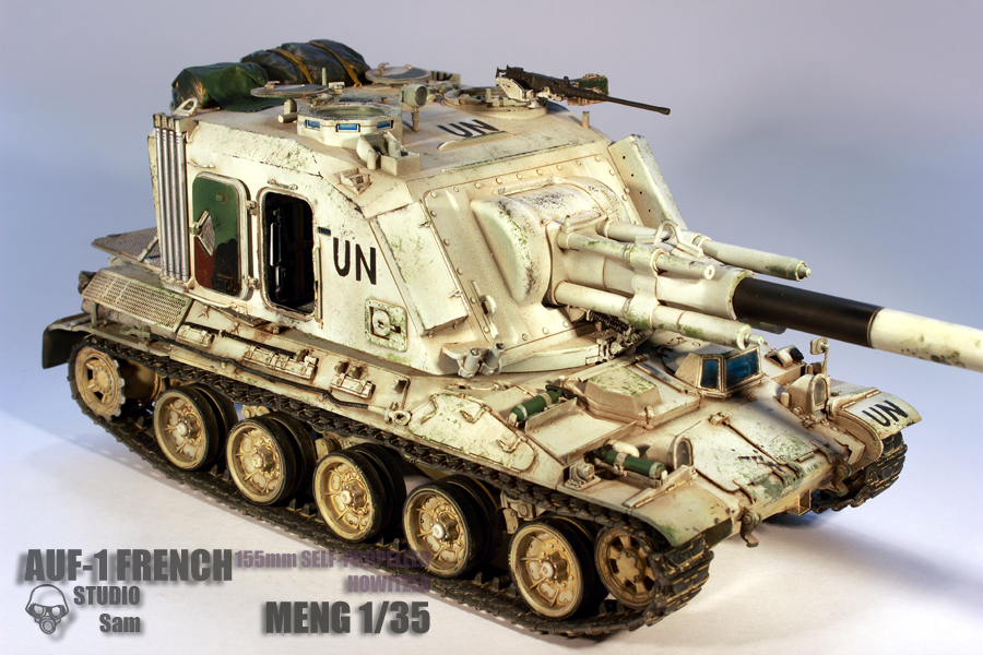 MENG 1/35. AUF1 FRENCH 155mm Self Propelled Howitzer Auf16