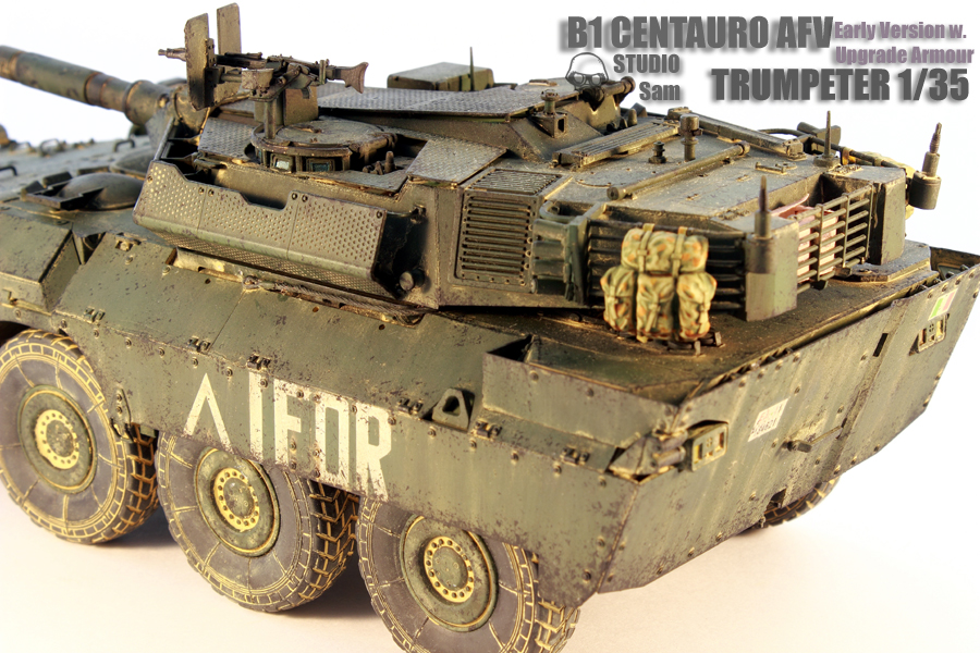 TRUMPETER 1/35 CENTAURO AFV Early Version with Uprgade Armour Centauro5
