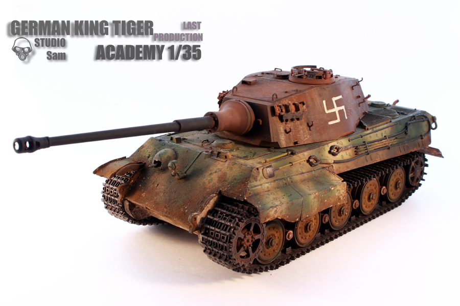 TRUMPETER 1/35 KING TIGER LAST PRODUCTION King1