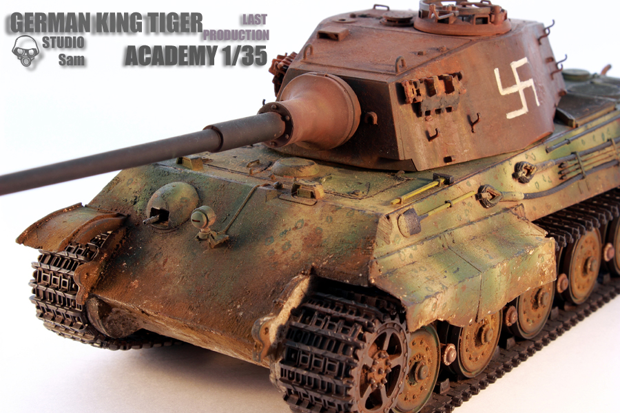 TRUMPETER 1/35 KING TIGER LAST PRODUCTION King10