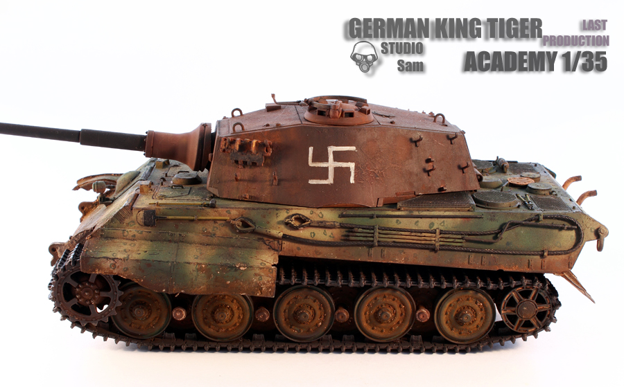 TRUMPETER 1/35 KING TIGER LAST PRODUCTION King2