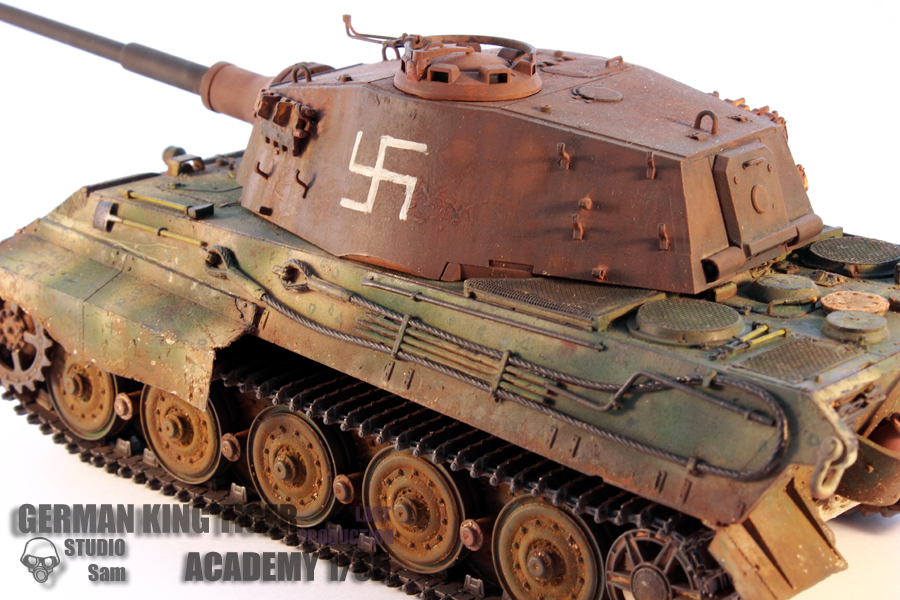 TRUMPETER 1/35 KING TIGER LAST PRODUCTION King4