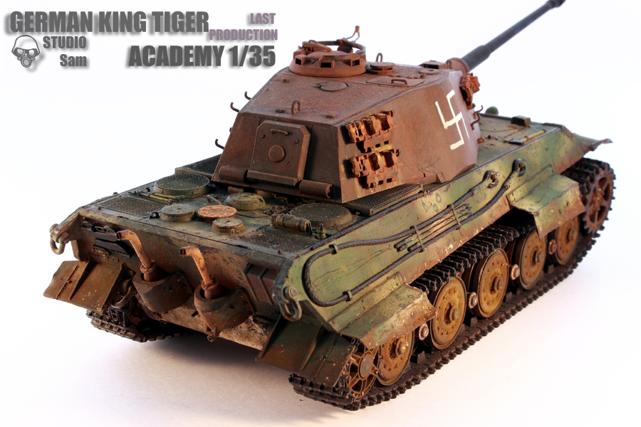 TRUMPETER 1/35 KING TIGER LAST PRODUCTION King5