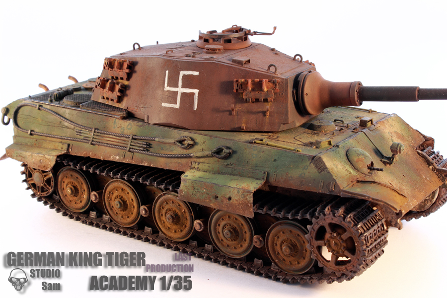 TRUMPETER 1/35 KING TIGER LAST PRODUCTION King6