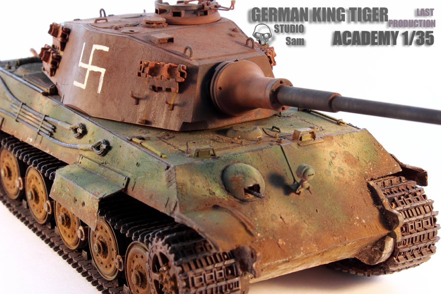 TRUMPETER 1/35 KING TIGER LAST PRODUCTION King8