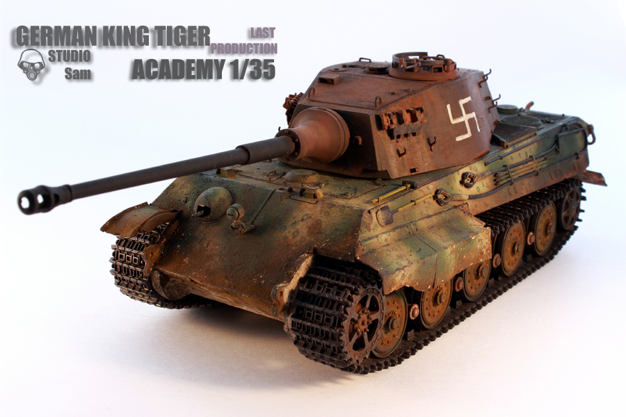 TRUMPETER 1/35 KING TIGER LAST PRODUCTION King9